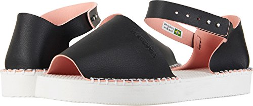 Slim Womens Havaianas Black Espadrille up Flatform S87qxw4H