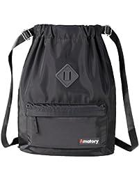 Drawstring Backpack Bag String Sackpack Gymsack Waterproof Sports Gym Cinch Sack
