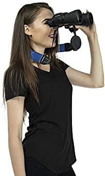 BlueCabi Neoprene Neck Strap for Cameras and Binoculars Wide Comfortable Unisex Adjustable Anti-Slip Neck//Shoulder Belt Strap Rangefinders and DSLR Cameras Grey Perfect for Binoculars