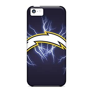 New Premium Adamfy11 San Diego Chargers Skin Case Cover Excellent Fitted For Iphone 5c