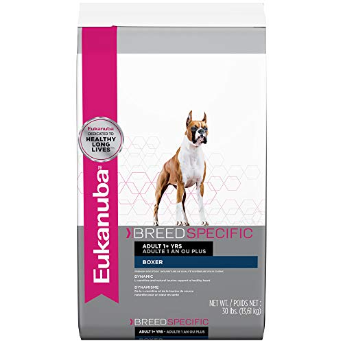 Eukanuba Breed Specific Boxer Dry Dog Food, 30 lb