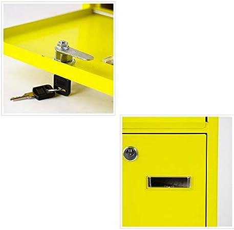 Mailbox Mail Post Office Mailbox Buzón Impermeable Buzón Montado En La Pared 24 × 8 × 30 Cm LYLQQQ: Amazon.es: Hogar
