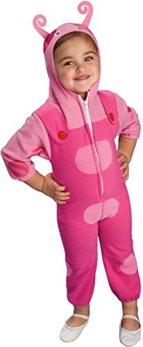 [Backyardigans Deluxe Uniqua Child Costume (As Shown;Medium)] (Uniqua Costume Baby)