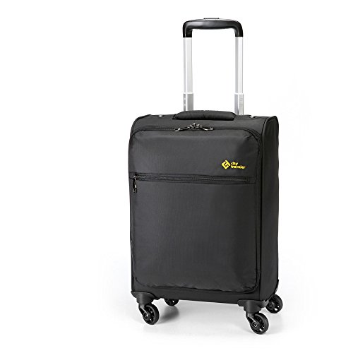 City Traveler Durable Nylon Business Suitcase Carry On