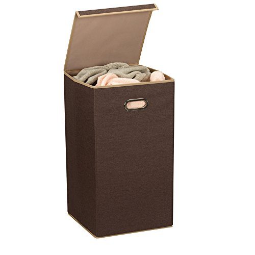Household Essentials Folding Laundry Clothes Hamper With