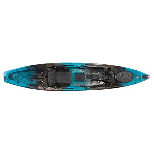 "Wilderness Systems 9750907110 Radar 135 Fishing Kayaks, Midnight, 13'6"""
