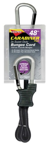 Keeper 06158 Super Bungee Carabiner