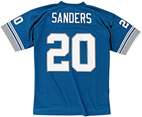 7293346fd Amazon.com   Barry Sanders Detroit Lions Throwback Jersey Small ...