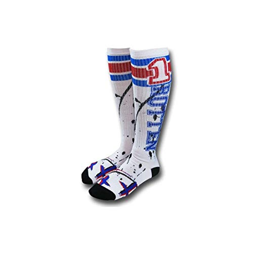 DC Comics Suicide Squad Harley Quinn Rotten Knee High Socks, Shoe Size 5-10