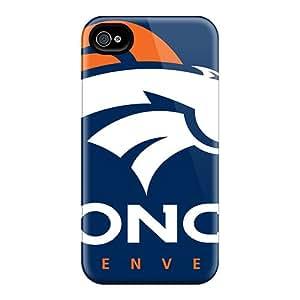 BillCM Premium Protective Hard Case For Iphone 4/4s- Nice Design - Denver Broncos