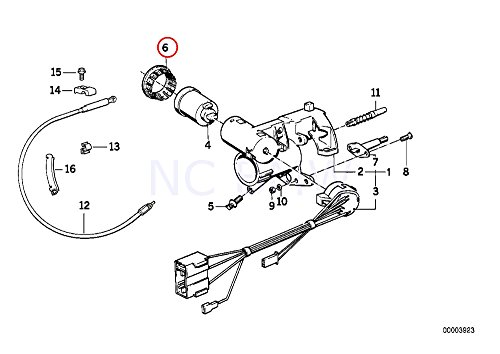 BMW Genuine Ring Antenna Adapter