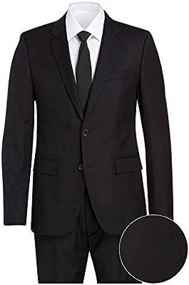 Hugo Boss Aret / Heto HM - Traje para hombre, talla 52, negro ...