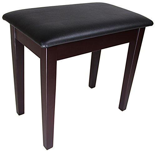 Barcelona Flip-Top Piano Bench - Rosewood with Matte Finish
