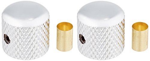 WD Music BBKC Brass Dome Knob [Set Of 2] Chrome