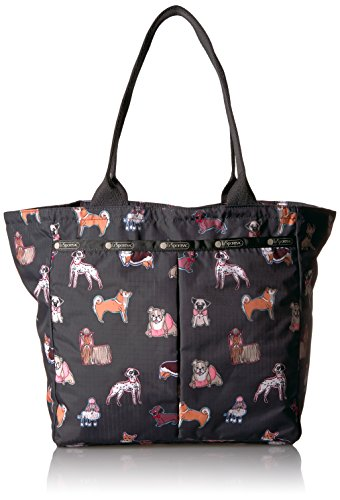 Print Animal Handbag Tote (LeSportsac Classic Everygirl Tote Handbag, Take a Bow Wow)