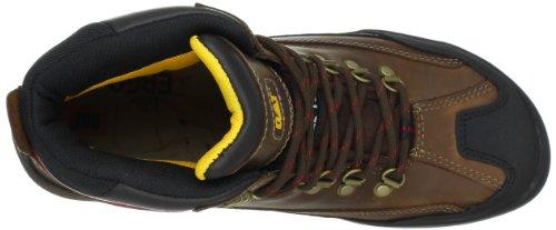 Caterpillar Mens Dynamite Waterproof Work Boot Dark Brown dwHBZ
