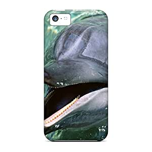 fenglinlinShock-dirt Proof Talking Dolphin Conew Cases Covers For ipod touch 5