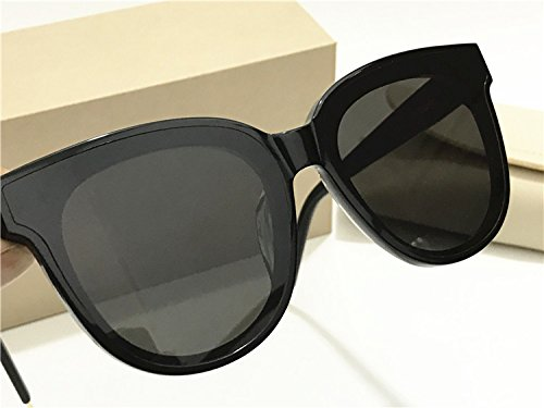 2de9ddff35f4 Amazon.com  New Gentle Women eyeware V Brand in Scarlet Sunglasses for  gental Monster Sunglasses -Black Frame Black Lens  Camera   Photo