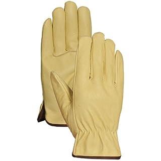 Bellingham Glove 90101 Men's Pigskin Leather Driver Gloves, X-Large