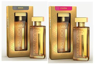 PiKSTUDiO Charm and Rider Eau De Perfume (5o ml), Combo Pack of 2