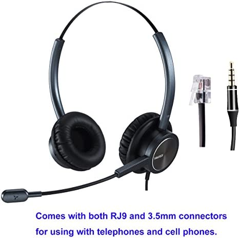 Headset Cancelling Connetor Mobiles Compatible product image