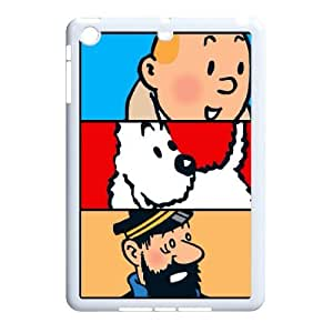 HXYHTY Tintin & Milou Phone Case For iPad Mini [Pattern-6]