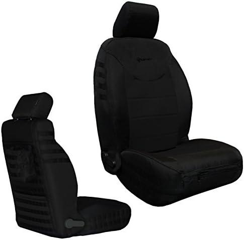 Black//Black Bartact 2013-17 Front Seat Covers AIR Bag Compatible Pair Jeep Wrangler JK and JKU