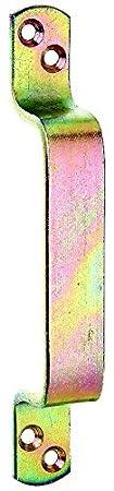 GAH-Alberts Poignée de porte 170 x 20 mm Surface galvanisée à chaud (Jaune) 417901
