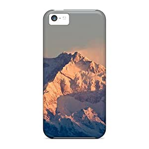 Defender Cases For Iphone 5c, Kangchenjunga Indian Himalayas Pattern