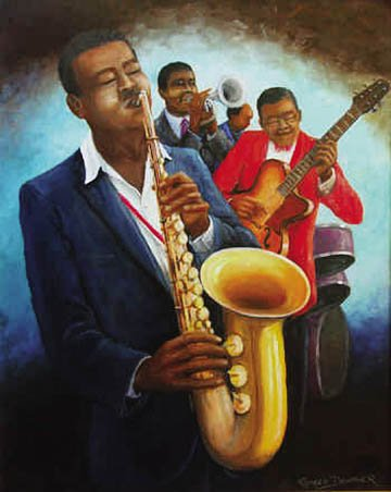 Image result for Afro Paintings music