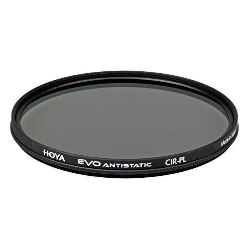 Hoya Evo Antistatic CPL Circular Polarizer Filter - 67mm - Dust / Stain / Water Repellent, Low-Profile Filter Frame