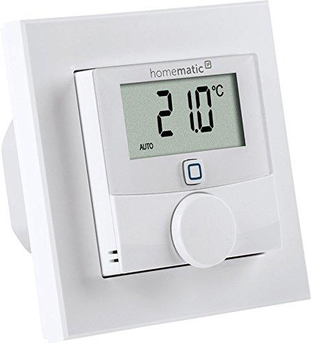 Homematic IP Wandthermostat mit Schaltausgang – für Markenschalter, 24V, 150697A0