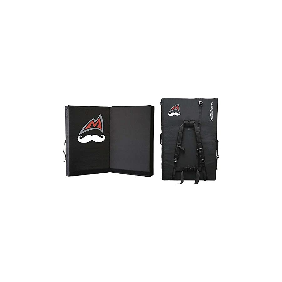 Mad Rock Mustache Mad Pad Black One Size