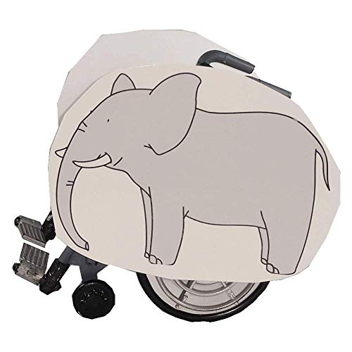 Elephant 2 Wheelchair Costume Child's