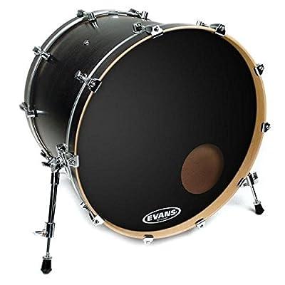 Evans EQ3 Resonant Black Bass Drum Head