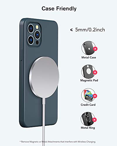 Olunnvi Magnetic Wireless Charger for iPhone 12 Mag Safe Charger Fast Wireless Charging Pad with USB-C 20W PD Adapter Compatible with iPhone 12/12 Pro Max/Mini/AirPods Pro