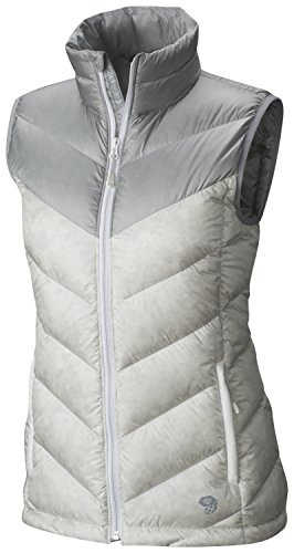 Mountain Hardwear Lightweight Vest - Mountain Hardwear Ratio Down Vest - Women's White Steam Medium