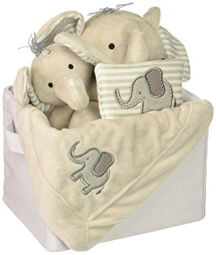 Baby Aspen Little Peanut Elephant 5 Piece Gift Set