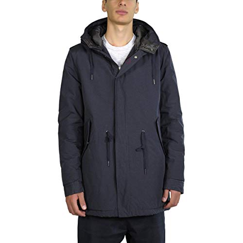 SIZE CANADIAN Uomo F18CNG215002 cod CANADIAN Blu 52 Giubbetto S76A6