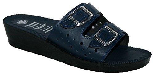 Gezer - Sandalias de vestir para mujer Azul - azul