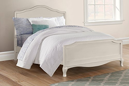 Hillsdale Glass - Hillsdale Kids and Teens 20015N Kensington Charlotte Panel Bed, Full, Antique White