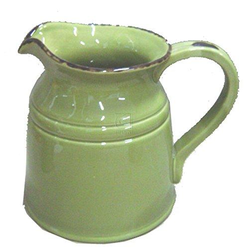 green ceramic pitchers - 9