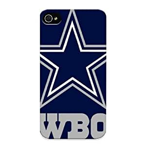Christmas Day's Gift- New Arrival Cover Case With Nice Design For Iphone 4/4s- Dallas Cowboys Nfl Team