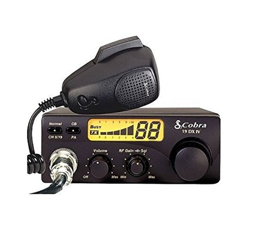 19 DX IV - CB Radio - LCD Display - 40 channels by Cobra by Cobra (Image #1)