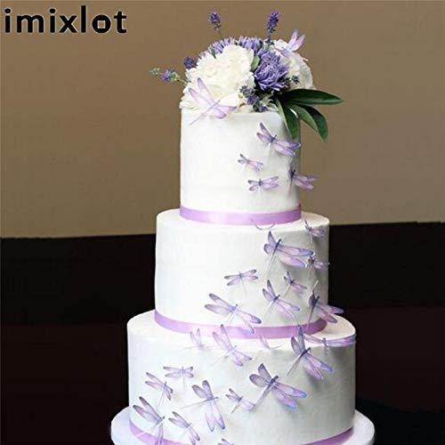1 piece Imixlot 1 Pc Cake Fondant Mold Dragonfly Cake Biscuits Cookie DIY Tool Silicone Mold Cake Decoration