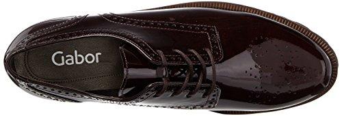 Gabor Fashion, Derby Donna Rosso (95 Merlot Cognac)
