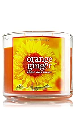 Bath & Body Works Aromatherapy 3-Wick Candle in Orange Ginger