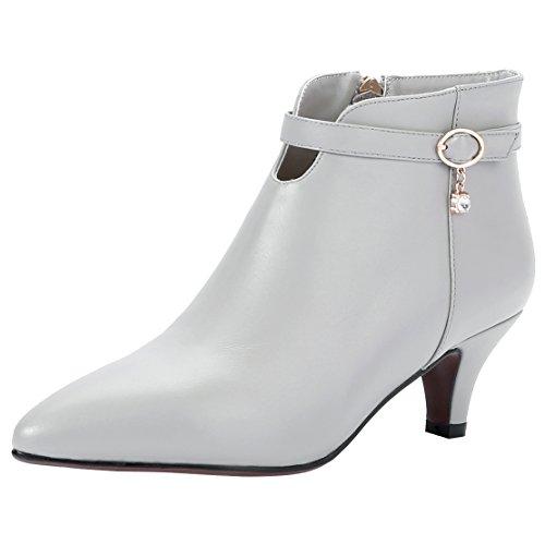 AIYOUMEI Women's Classic Boot Grey Ad6iidz