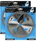 "Shark Pro-series (2 Pack) 8-1/4 inch 40 Teeth Carbide 5/8"" arbor hole DKO Thin Kerf ATB Miter Saw Blade ""Ship FREE buy $25+"""