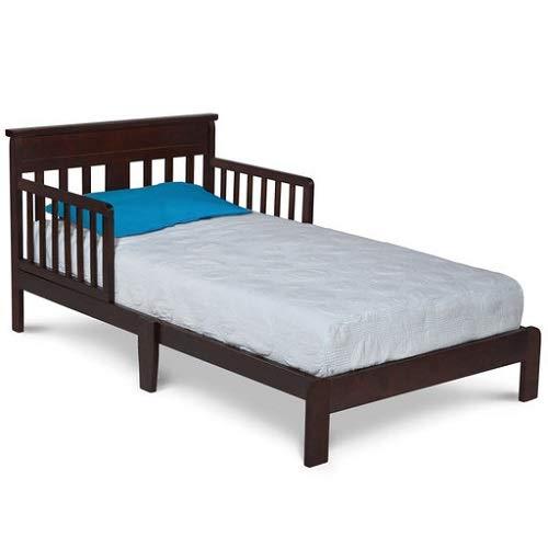 Delta Children Scottsdale Toddler Bed, Black Cherry